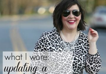 What I Wore: Updating a Wardrobe Favorite [Sponsored]