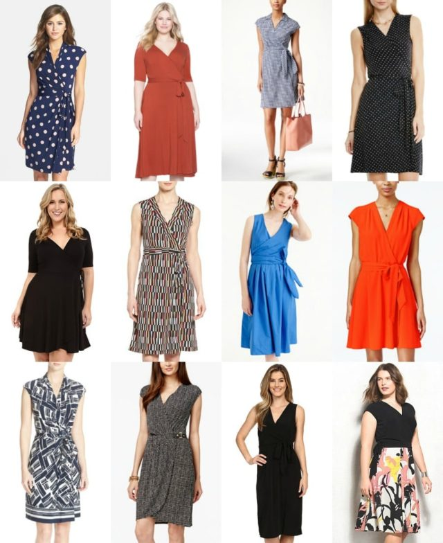 wrap dresses for spring and summer - wardrobe oxygen