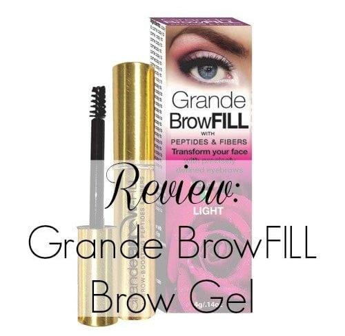 Grande Naturals BrowFILL Brow Gel
