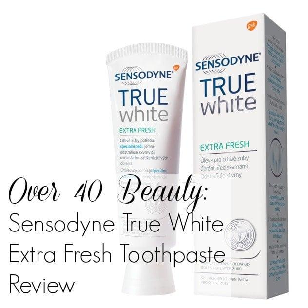 Sensodyne True White Extra Fresh Toothpaste Review Sensodyne True White Extra Fresh Toothpaste
