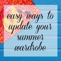Wardrobe Oxygen - Easy Ways to Update your Spring and Summer Wardrobe