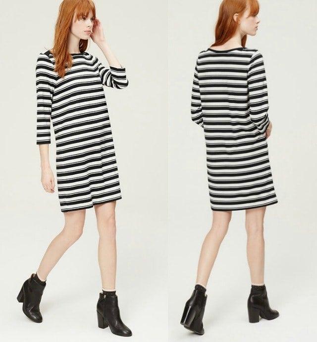 Wardrobe Oxygen - LOFT Ahoy Striped Dress Review