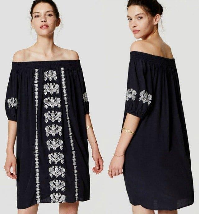 Wardrobe Oxygen - LOFT La Bonita Dress Review