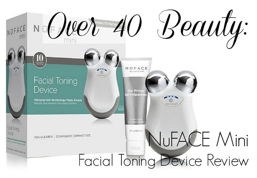 NuFACE Mini Facial Toning Device Review featured by popular DC style blogger, Wardrobe Oxygen