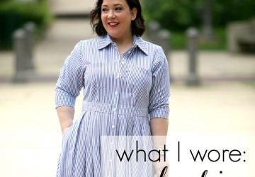 What I Wore: Candy Stripe [Sponsored]