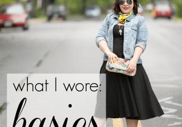 What I Wore: Basics