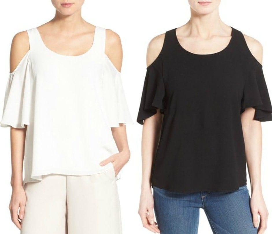 cold shoulder tops - wardrobe oxygen