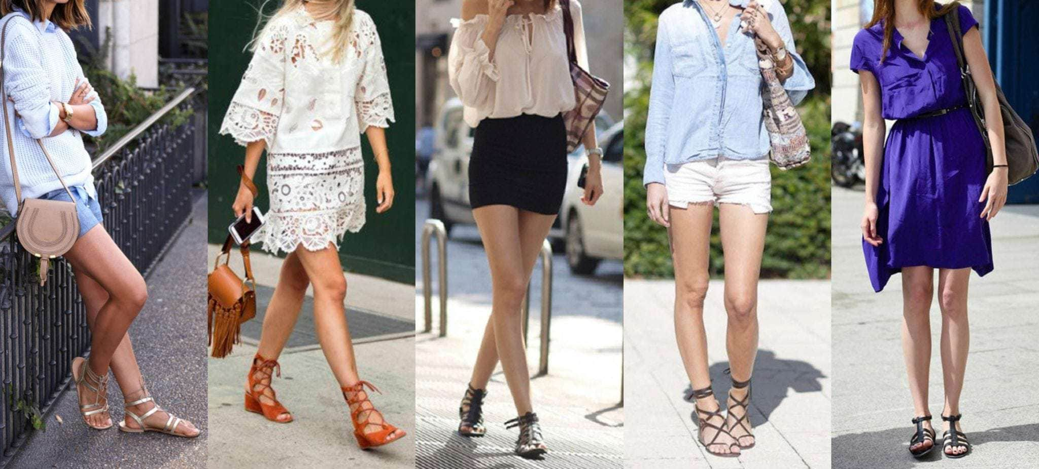 low gladiator sandal trend 2016