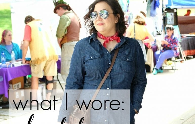 wardrobe oxygen - what I Wore about town