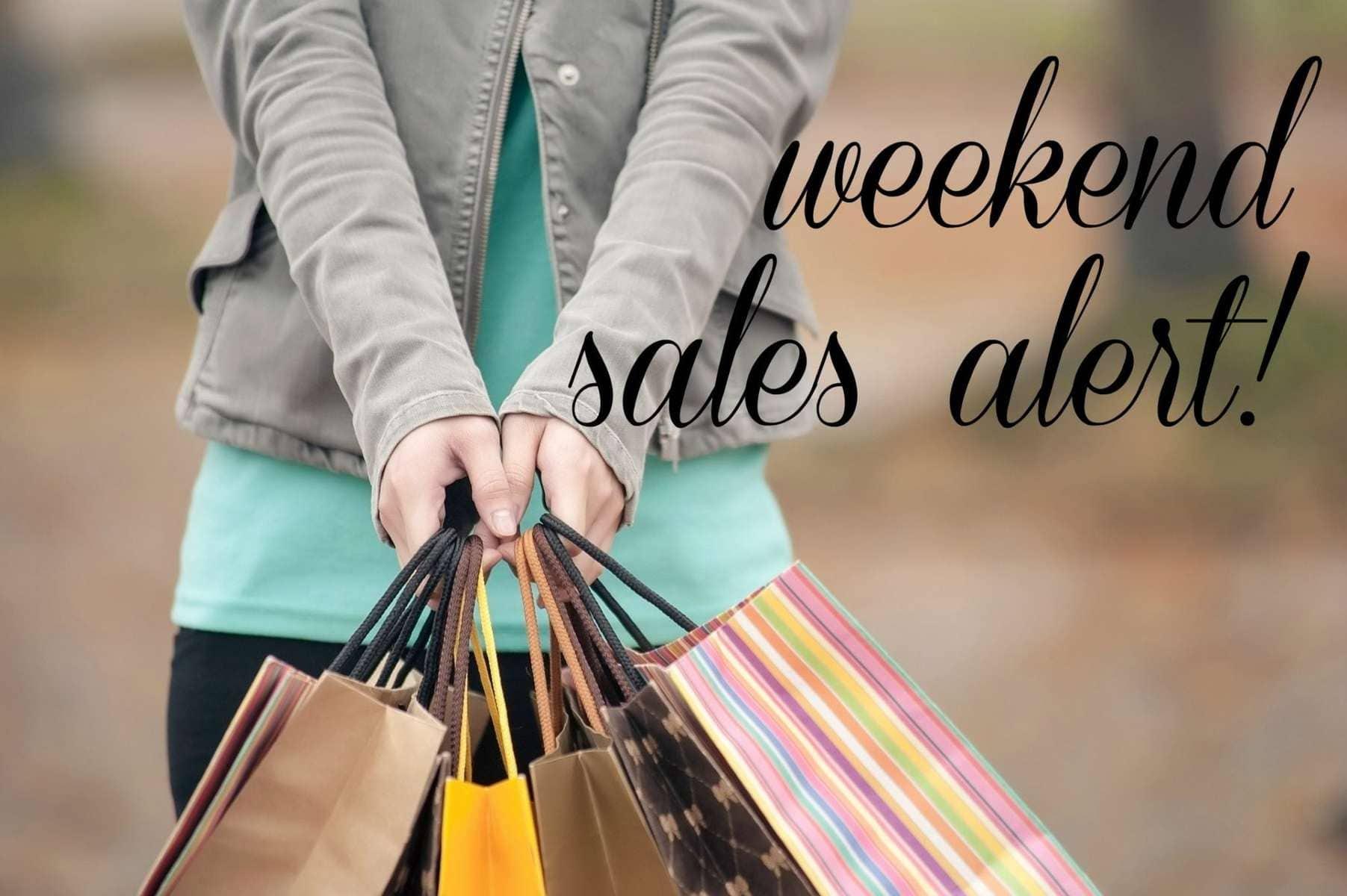 Weekend Sales Alert - Wardrobe Oxygen