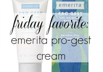 Friday Favorite: Emerita Pro-Gest Cream