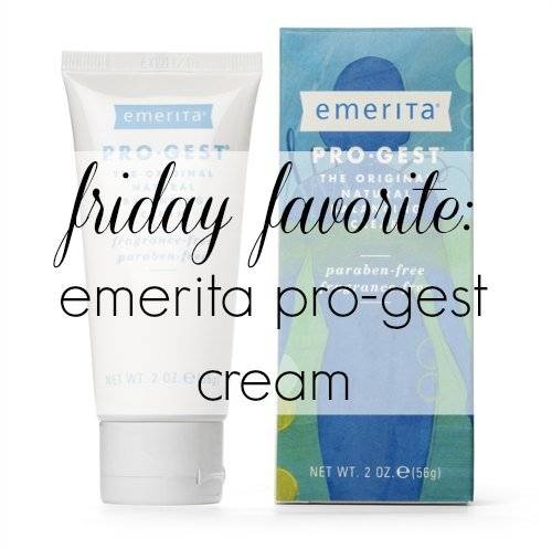 Wardrobe Oxygen: Review of Emerita Pro-Gest Progesterone Cream. Sharing how it helped with insomnia, heavy periods, cramps, and more. Friday Favorite: Emerita Pro-Gest Cream