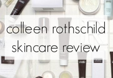 Beauty Review: Colleen Rothschild Skincare