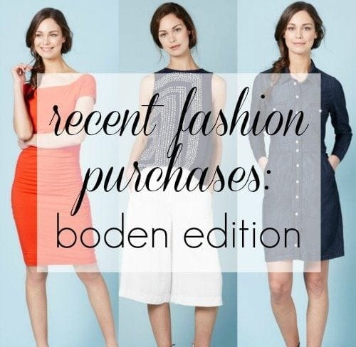 boden clothing review - Wardrobe Oxygen