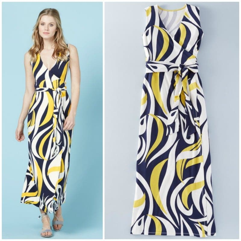 boden wrap maxi dress