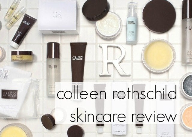 colleen rothschild skincare review - wardrobe oxygen