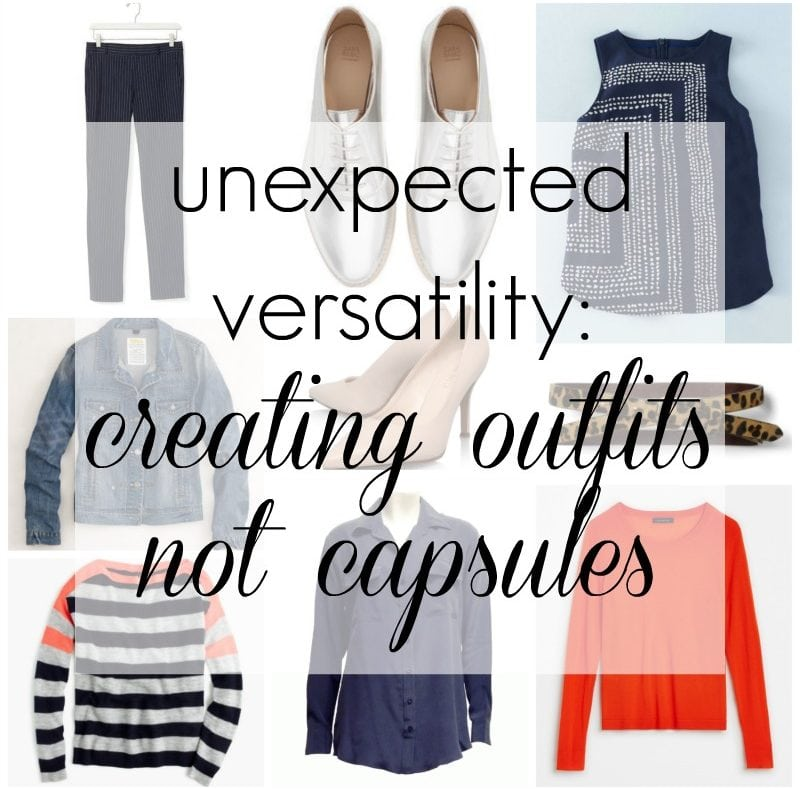 creating outfits not capsules