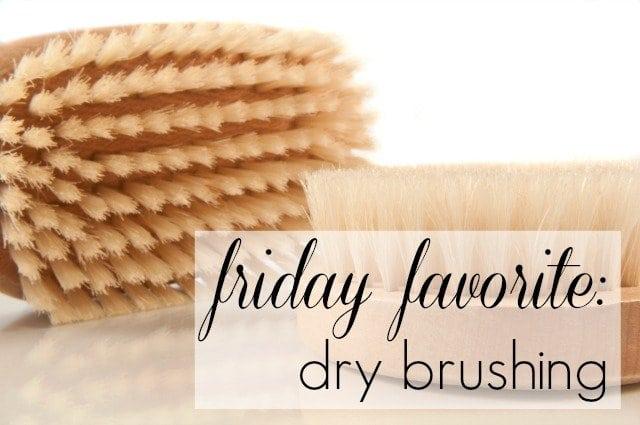 dry brushing benefit - wardrobe oxygen