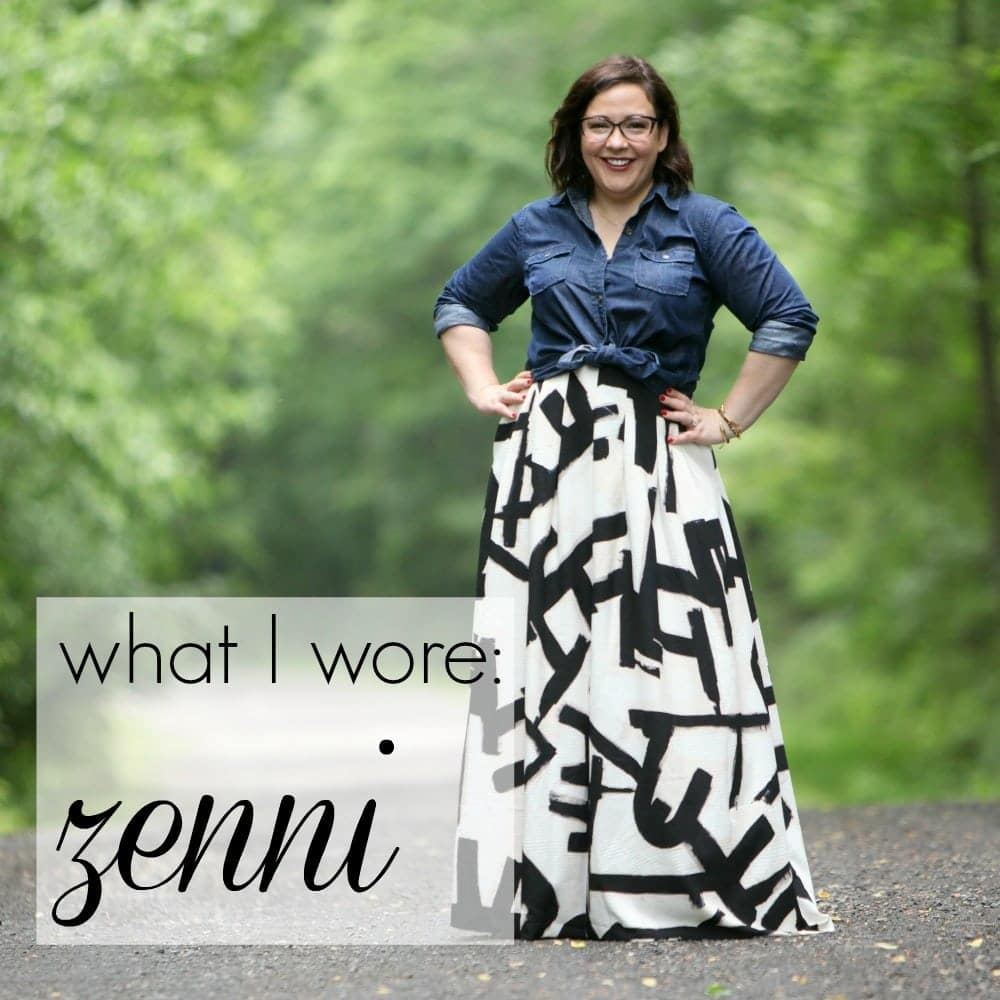 wardrobe oxygen what i wore featuring zenni optical What I Wore: Zenni