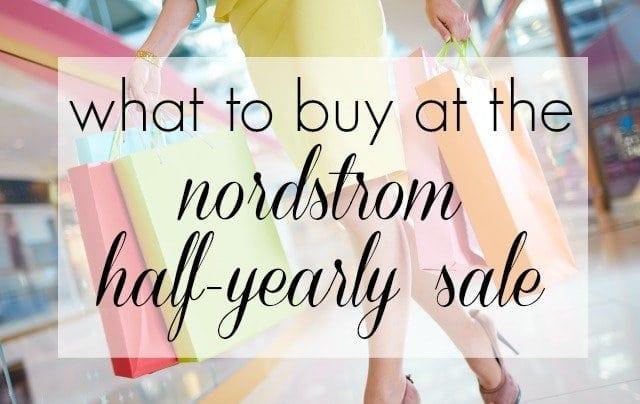 Wardrobe Oxygen: Nordstrom Half-Yearly Sale what to by best deals under $100