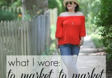 What I Wore: To Market To Market
