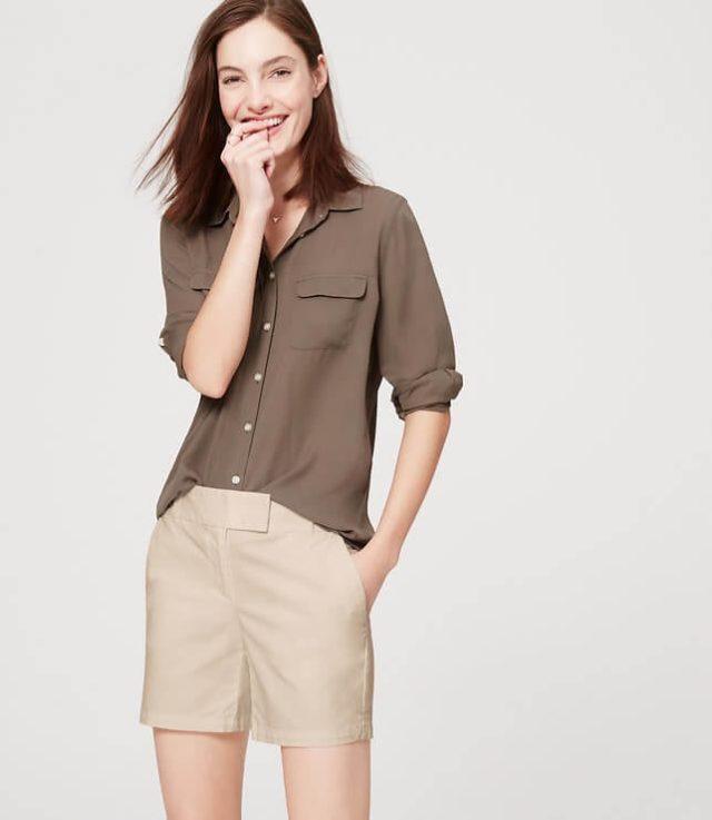 LOFT Riviera Shorts 6 inch inseam
