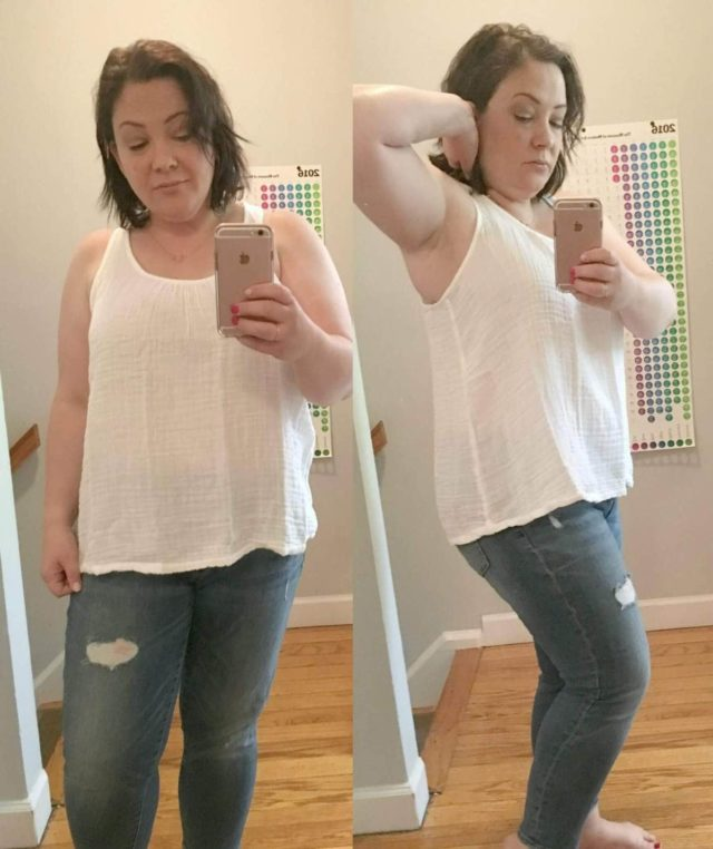 Lou and Grey Crinkle Linen Tank Review - Wardrobe Oxygen