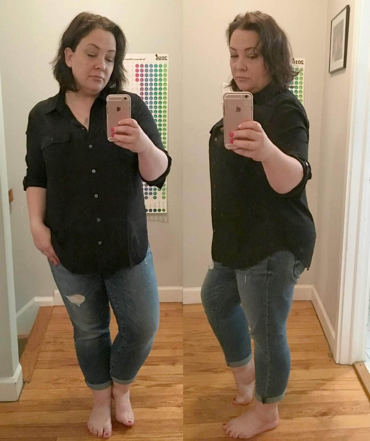 Wardobe Oxygen Review LOFT Utility Shirt Black