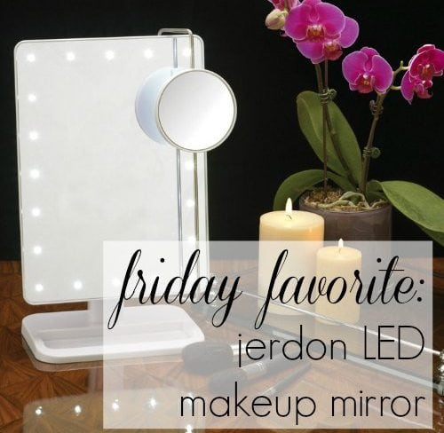 Wardrobe Oxygen - Review of the Jerdon JS811W LED Makeup Mirror