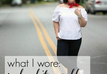 What I Wore: Red White and Blue