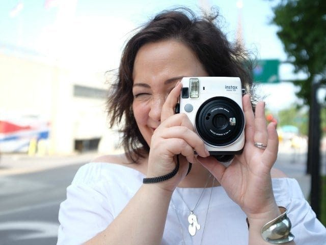 Wardrobe Oxygen: Fuji INSTAX Camera review and giveaway