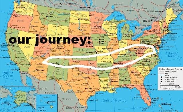 wo2crosscountry 2016 journey