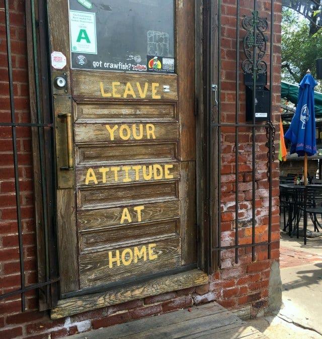 Broadway Oyster Bar St. Louis Missouri Door