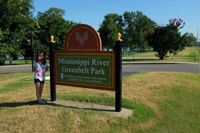 Greenbelt Park Mud Island Memphis