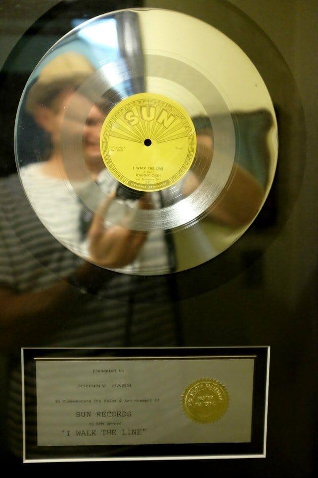 Johnny Cash I Walk the Line Record Sun Records Memphis