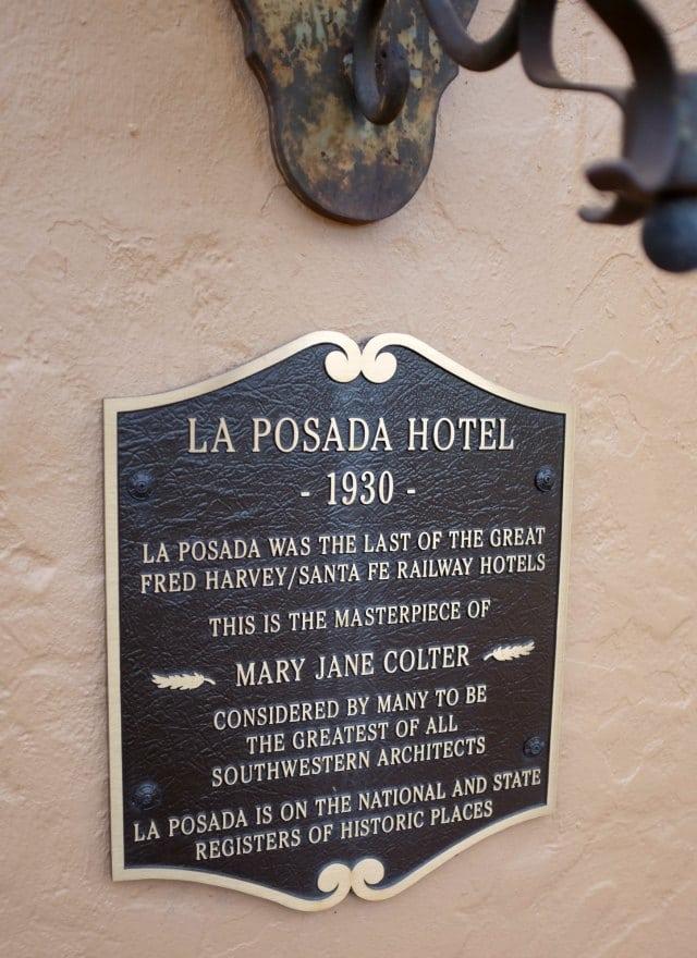 La Posada Hotel Winslow 1930