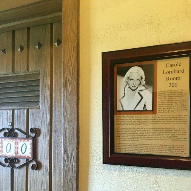 La Posada Hotel Winslow Arizona Room 200 Carole Lombard