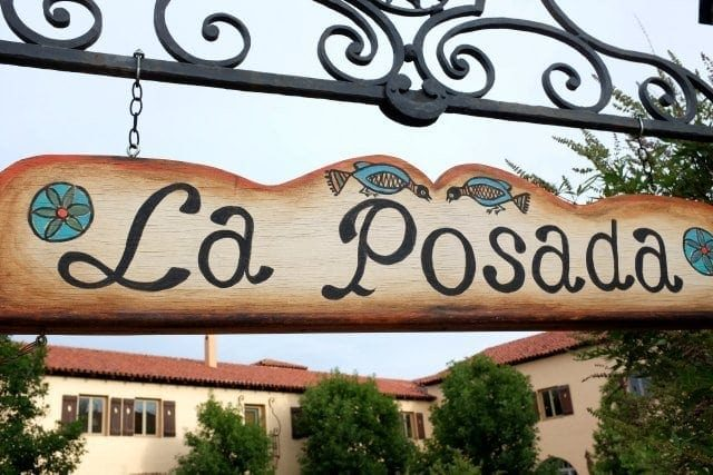 La Posada Hotel Winslow Sign