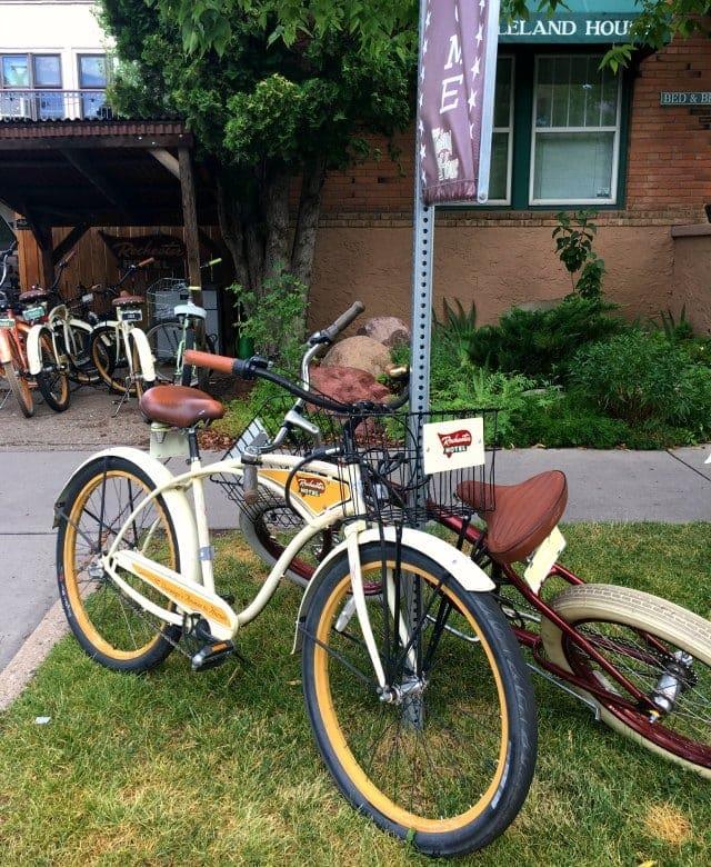 Leland House Rochester Hotel Durango Colorado bike rental