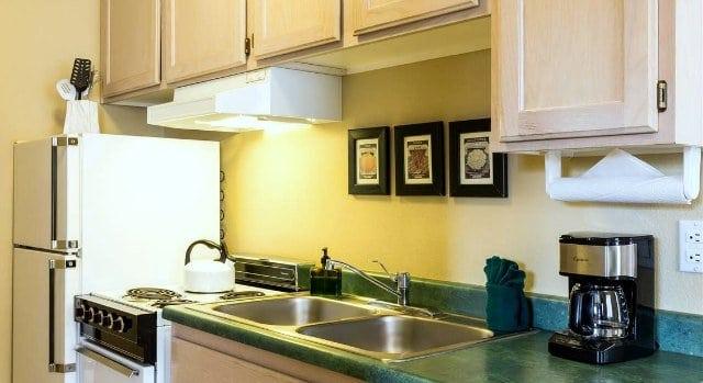 Leland House Durango Colorado Queen Suite Kitchen