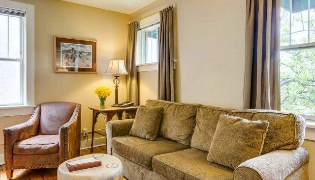 Leland House Durango Colorado Queen Suite Living Room