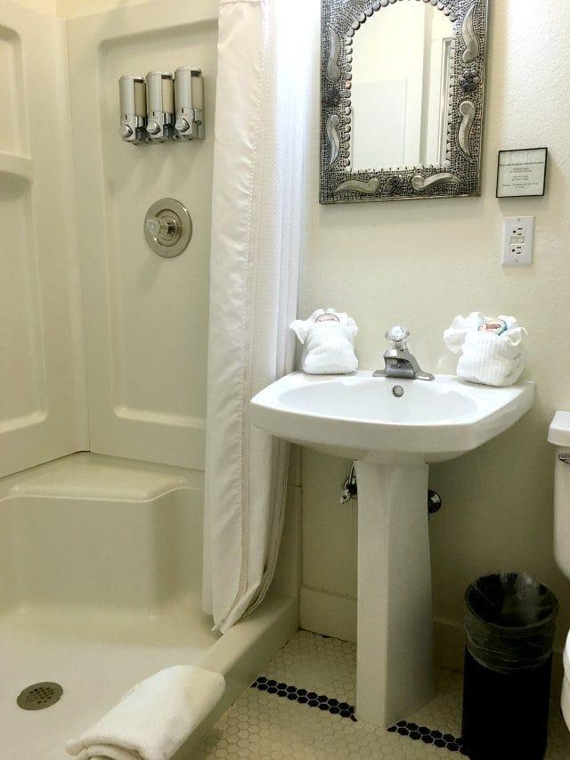 Leland House Queen Suite Bathroom Durango Colorado