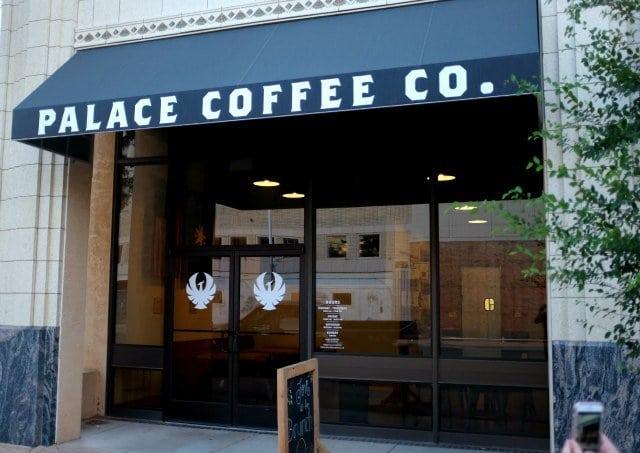 Palace Coffee Co Amarillo Texas