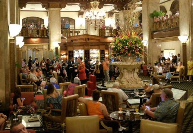 Peabody Hotel Lobby Memphis