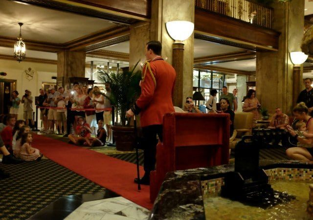 Peabody Hotel Memphis Duckmaster