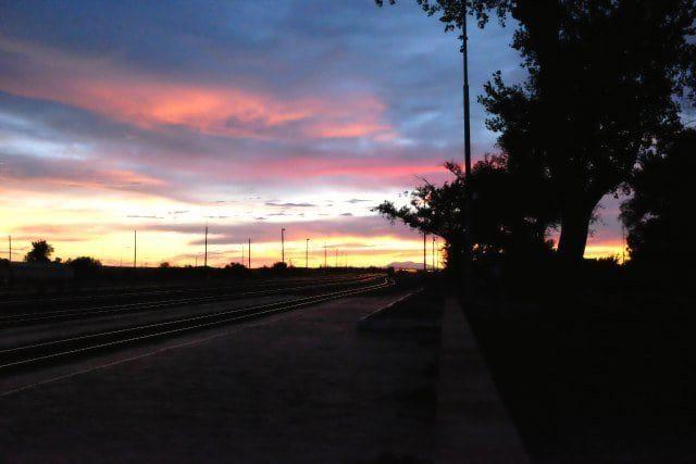 Sunset at La Posada Hotel