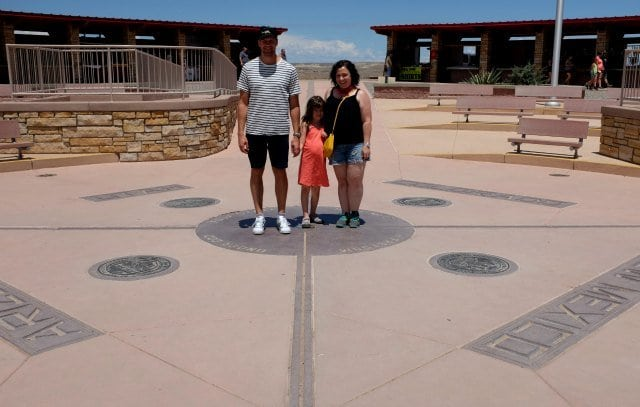 The Garys at Four Corners Monument