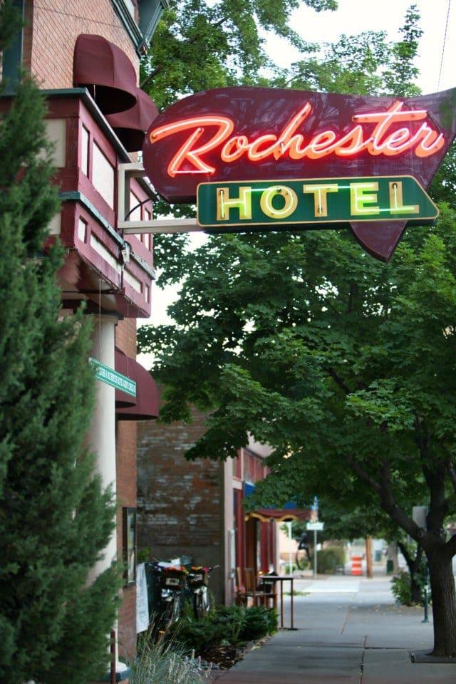 The Rochester Hotel in Durango Colorado - Wardrobe Oxygen