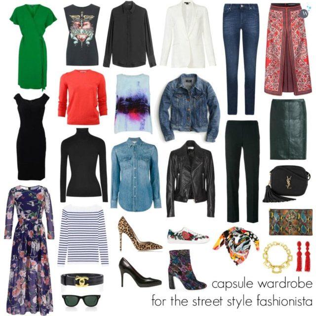 33676ca6 Wardrobe Oxygen - Capsule Wardrobe for the Street Style Fashionista
