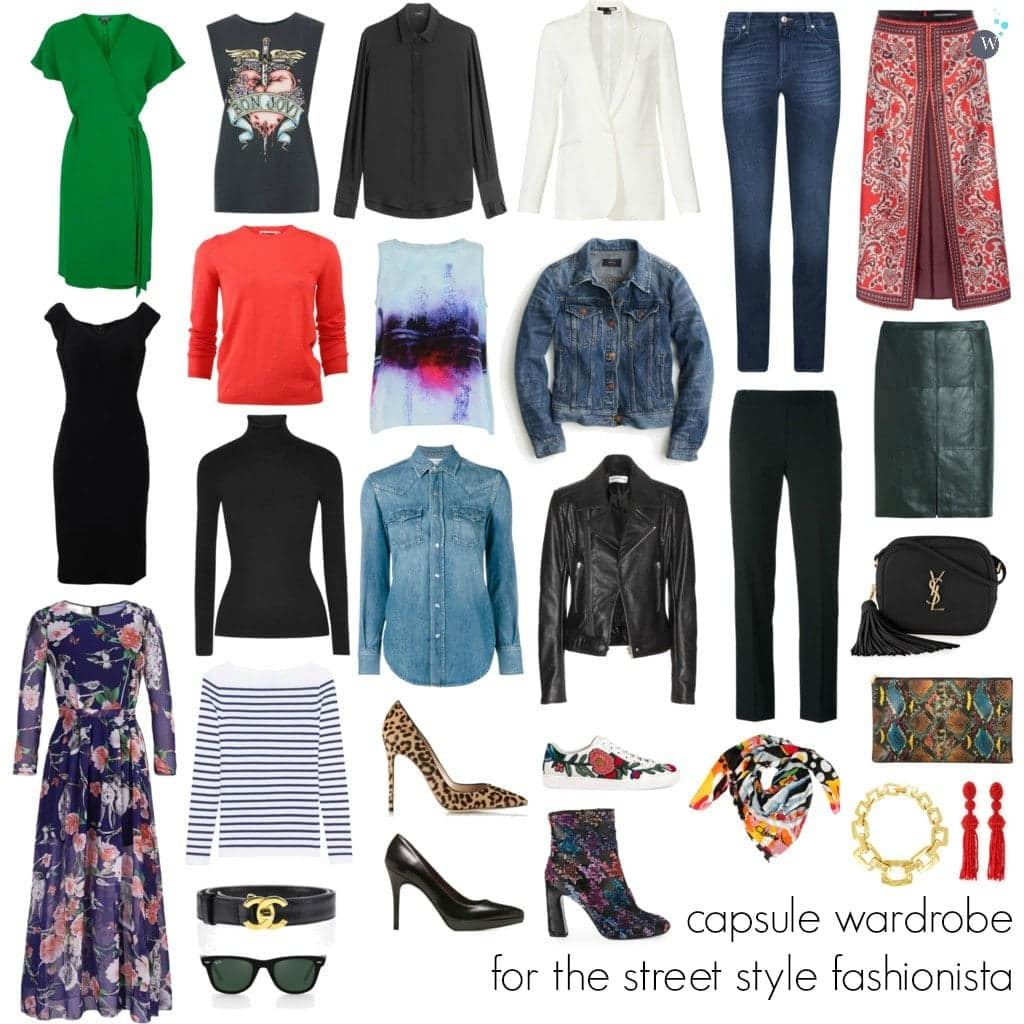 Wardrobe Oxygen - Capsule Wardrobe for the Street Style Fashionista